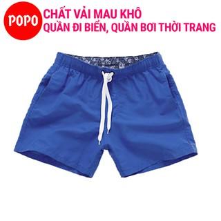 Quần thể thao nam đi biển, đi bơi POPO ST1 chất vải thoáng khí thumbnail