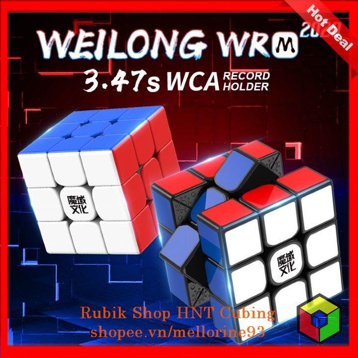 (Siêu Phẩm) Rubik 3×3 MoYu Weilong WRM 2020 Khối Lập Phương Rubik Cao Cấp 3 Tầng