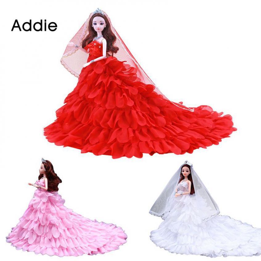 addie Công chúa dễ thương Đảng Dress Đối với 30 Barbie cm Dolls