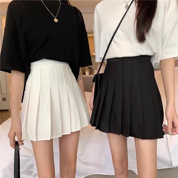 [Mã FAMAYWA giảm 10K đơn 50K] Chân Váy Tennis Xếp Ly Lưng Cao Phong Cách Hàn Quốc M859