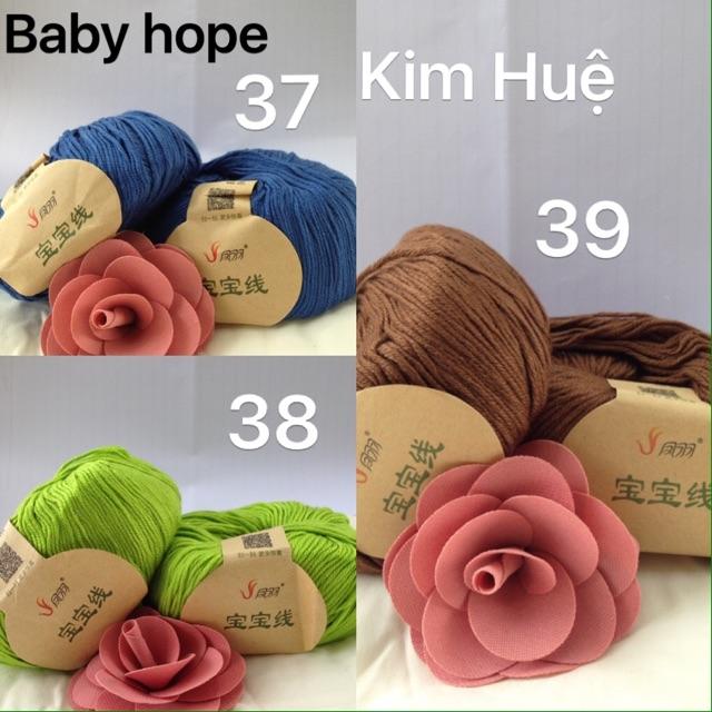 Combo len baby hope và phụ kiện