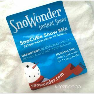 Tuyết nhân tạo Snowonder nhập trực tiếp từ Mỹ