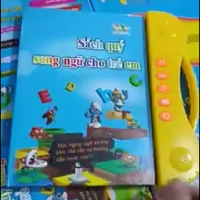Sách song ngữ cho trẻ