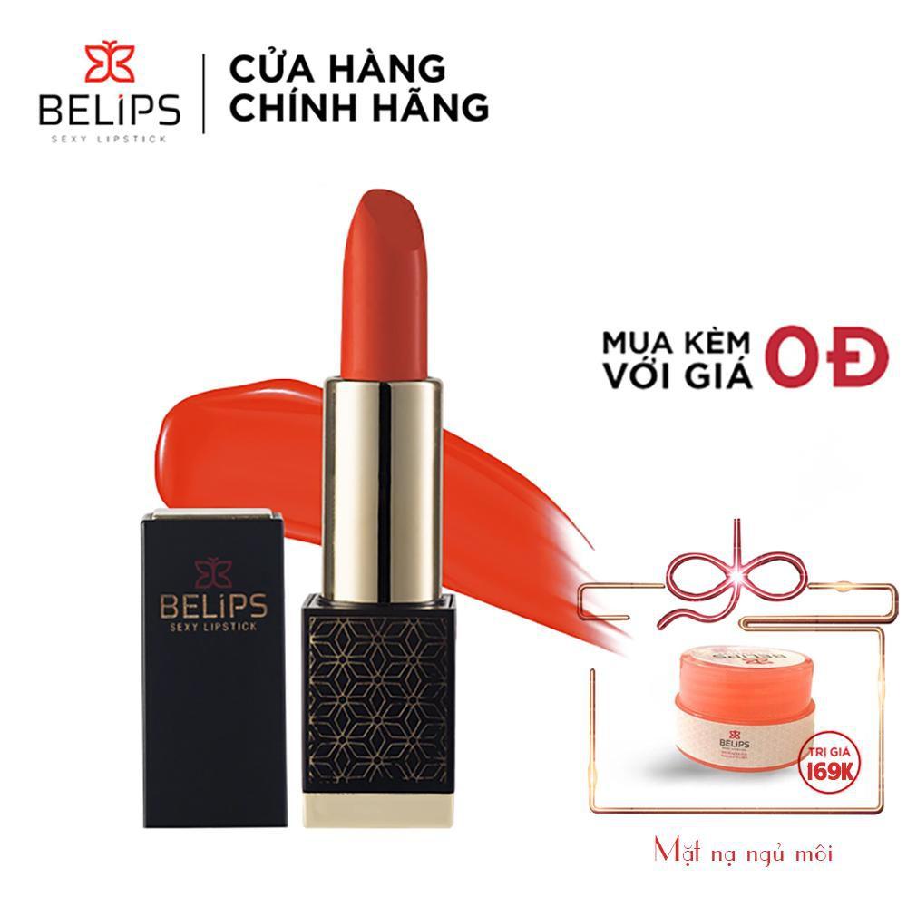 Son Thỏi Siêu Mướt Mềm Mịn Môi Belips [Tặng quà] Thiên Nhiên Không Chì An Toàn Cho Cả Bà Bầu Sexy Lipstick (3,7g)