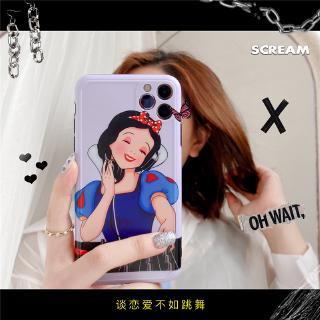 Ốp Điện Thoại Bằng Silicon In Hình Công Chúa Dj Cá Tính Cho Iphone 7 8 X Xr Xs 11 Pro Max Se 2020