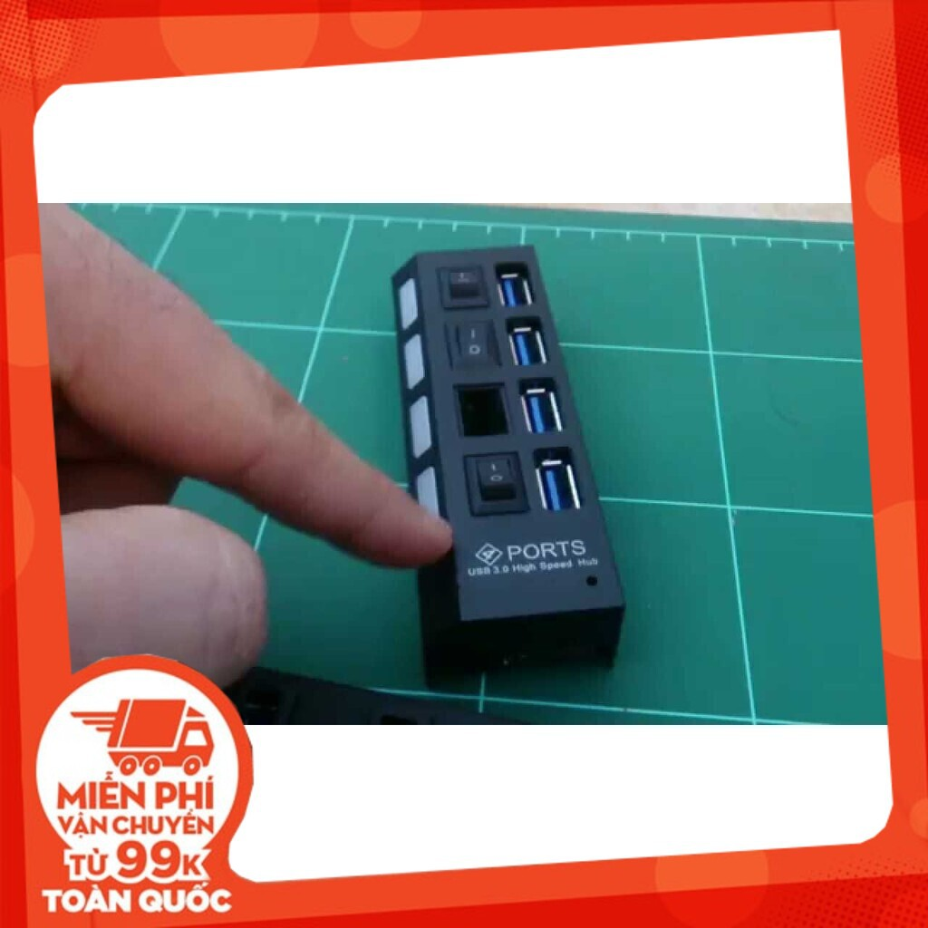 [Siêu Hot] Hub USB 4 Port 3.0 chính hãng Giá chỉ 95.000₫