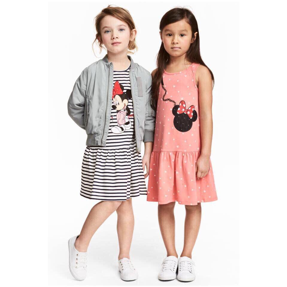 Váy H&M đuôi cá chuột Mickey sọc