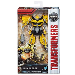 Mô hình Transformer The Last Knight Premier Edition Deluxe Bumblebee