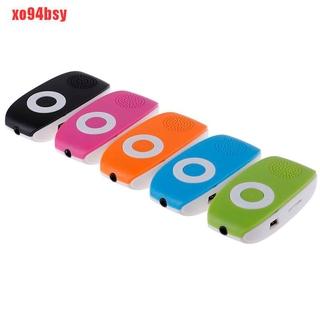 Máy Nghe Nhạc Mp3 Mini Có Kẹp Hỗ Trợ Thẻ Tf (Xo94Bsy) thumbnail