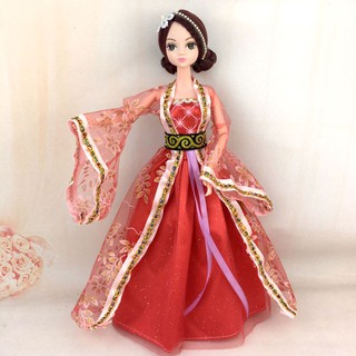 Handmake Doll Dress Girl Doll Dress Traditional Ancient Costume