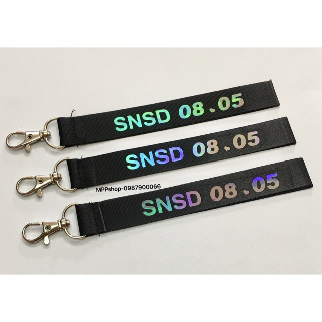 Nametag SNSD :1 cái