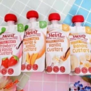 [8/2021,Mẫu mới] Váng sữa Heinz 120gr hàng Nội Địa Úc.