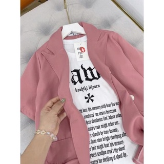 Sét 2 Áo Phông + Áo Vest Khoác Ngoài