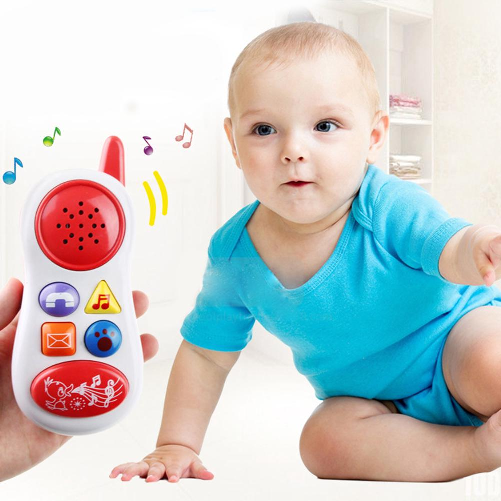 Baby Kid Child 5 function Educational Learning Mobile Phone Toy Musical Playing