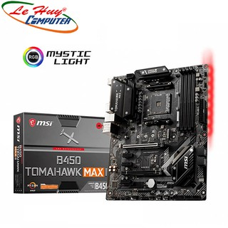 [Mã ELMSHX03 hoàn 6% xu đơn 2TR] Mainboard MSI B450 TOMAHAWK MAX II thumbnail