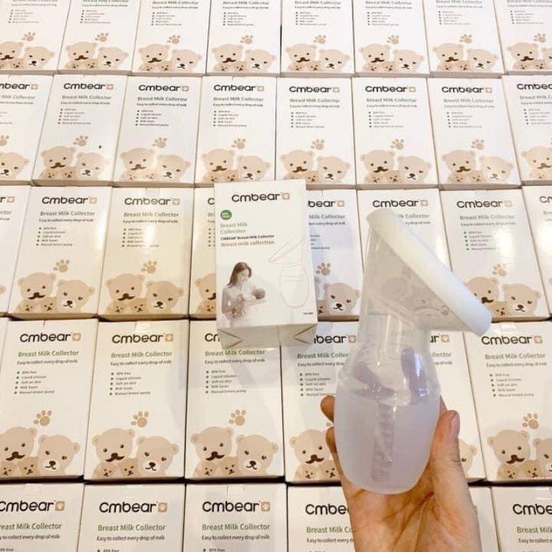[Mã 267FMCGSALE giảm 8% đơn 500K] Cốc / phễu hứng sữa silicon cao cấp Cmbear ( hút sữa rảnh tay )