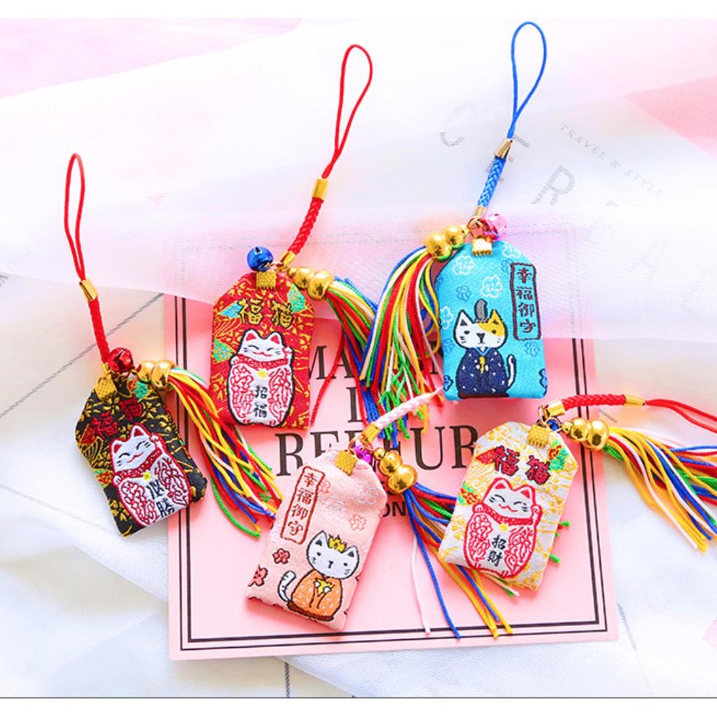 Bùa Omamori mèo may mắn, tinh duyên, hạnh phúc - 3285018 , 991248953 , 322_991248953 , 30000 , Bua-Omamori-meo-may-man-tinh-duyen-hanh-phuc-322_991248953 , shopee.vn , Bùa Omamori mèo may mắn, tinh duyên, hạnh phúc