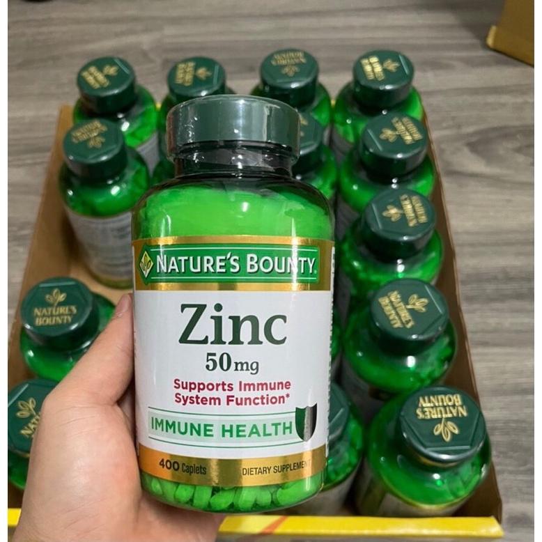 Viên Nature's Bounty ZinC 400 viên