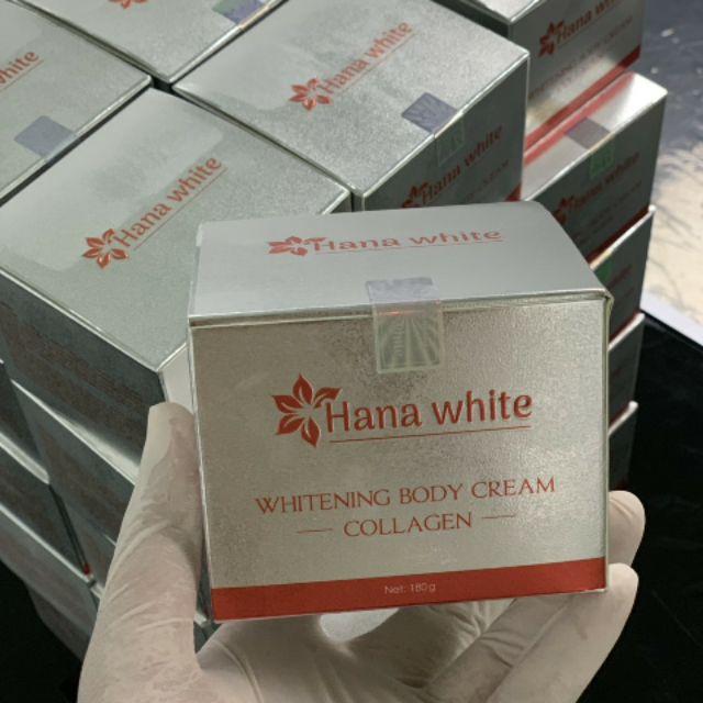 Kem dưỡng toàn thân Hana White 180g