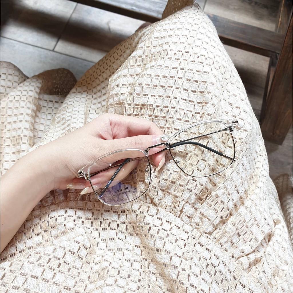 Cắt kính mắt cận-loạn / Gọng kính cận thời trang / Gọng vuông 2713