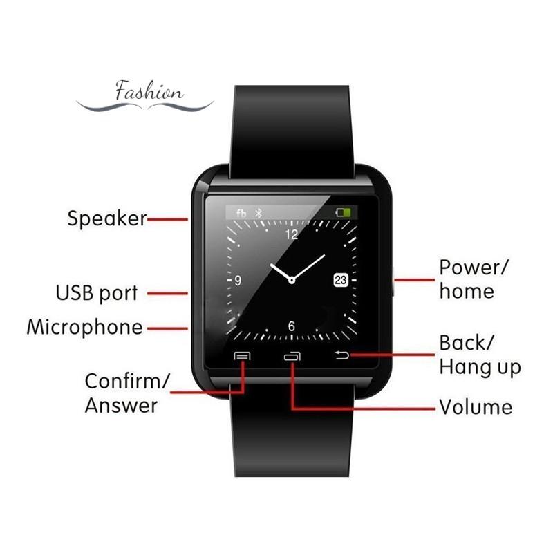 Đồng Hồ Thông Minh Kết Nối Bluetooth Theo Dõi Sức Khỏe