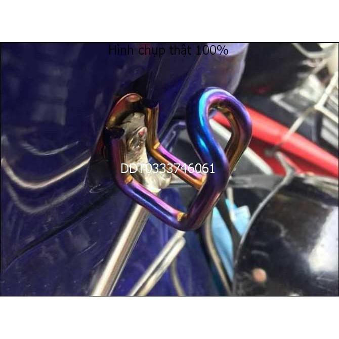 Móc chữ U chất liệu Inox cao cấp treo đồ dành cho mọi loại xe máy