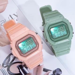 Đồng hồ thể thao nữ FREESHIP đồng hồ điện tử Phiên bản Hàn Quốc của xu hướng thể thao 2020 đơn giản Phong cách TT04 thumbnail