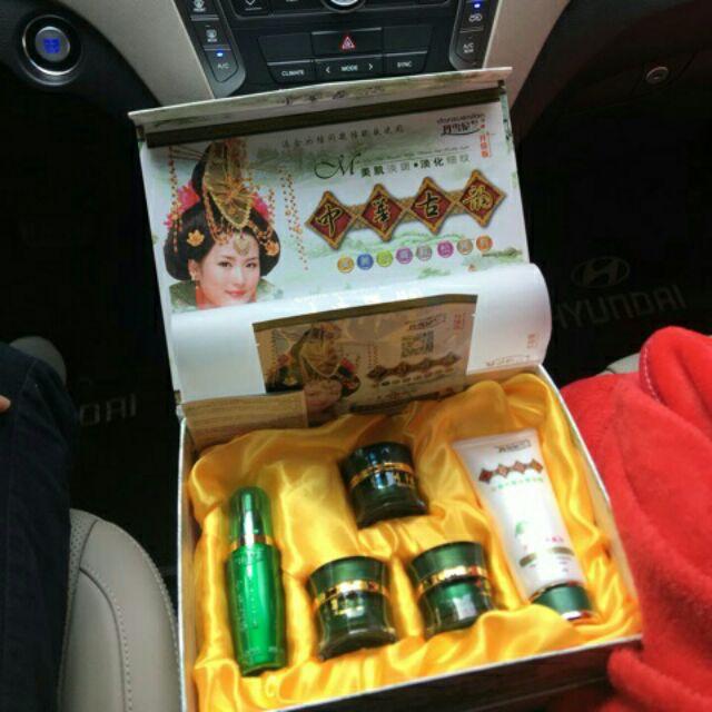 Bộ MP Hoàng cung xanh Danxuenilan (5in1) chính hãng, trị nám tàn nhang làm trắng da (có bộ thử)