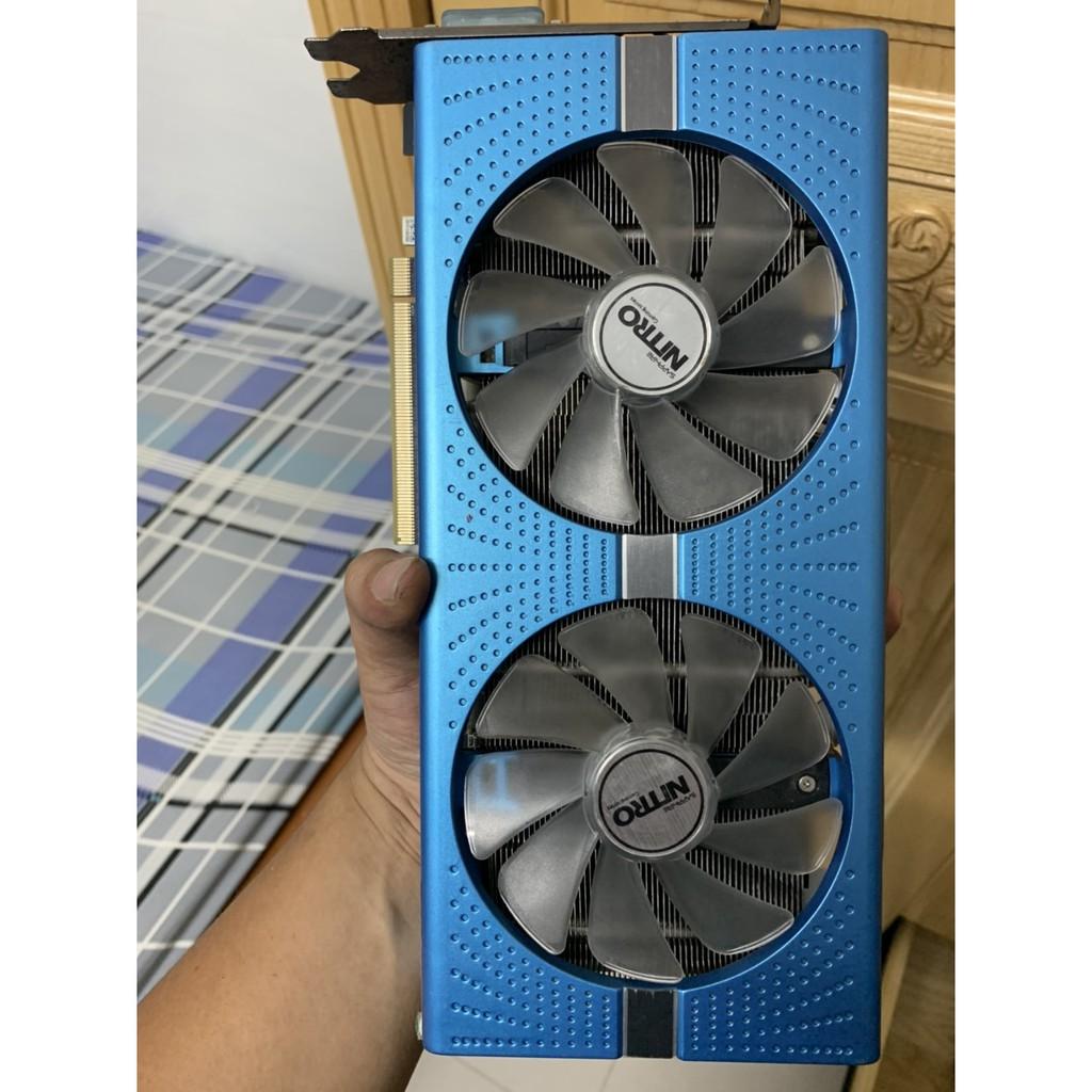 CARD ĐỒ HỌA RX 580 8GB SAPPHIRE DDR5 256BIT HÀNG XÁCH TAY BẢN ĐẶC BIỆT
