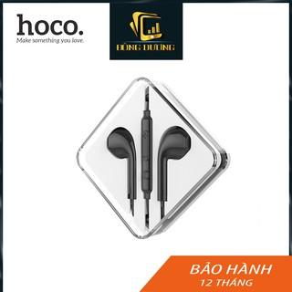 Tai nghe iphone Hoco M55 có mic đàm thoại jack 3.5 hỗ trợ máy samsung,oppo,iphone 5/6- Hàng Chính Hãng - Phụ Kiện THG