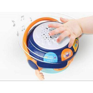 Con lật đật, kèm trống nhạc, đồ chơi trẻ em