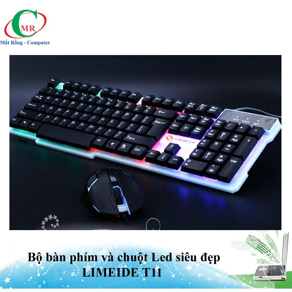 Bộ bàn phím và chuột LIMEIDE T11 chuyên Game Led nhiều màu siêu đẹp