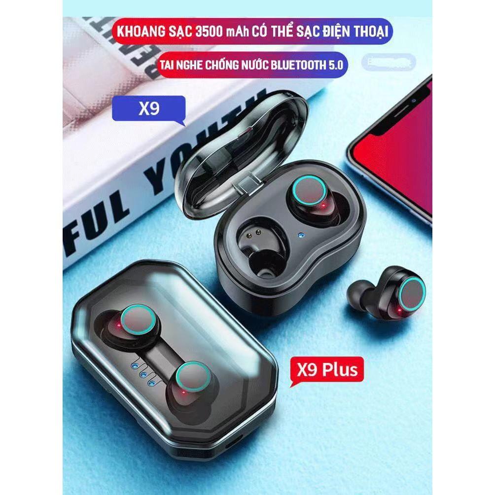 Tai Nghe Bluetooth 5.0 True Wireless X9 Plus (X10P)