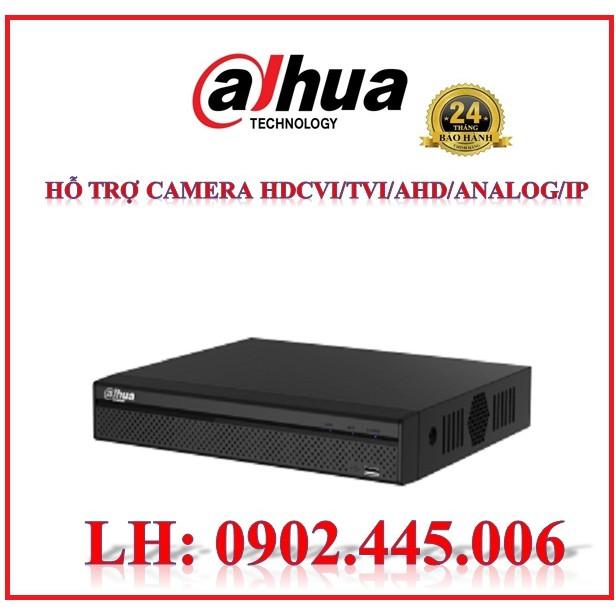 Đầu ghi hình 4 kênh, hỗ trợ camera HDCVI/TVI/AHD/Analog/IP,XVR5104HS-X1