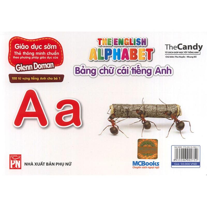 Flashcard The English Alphabet - Bảng chữ cái tiếng Anh