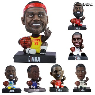 Antarctica HOT Basketball Stars Cartoon Character Model Toy Car Ornaments Room Decoration Gift
