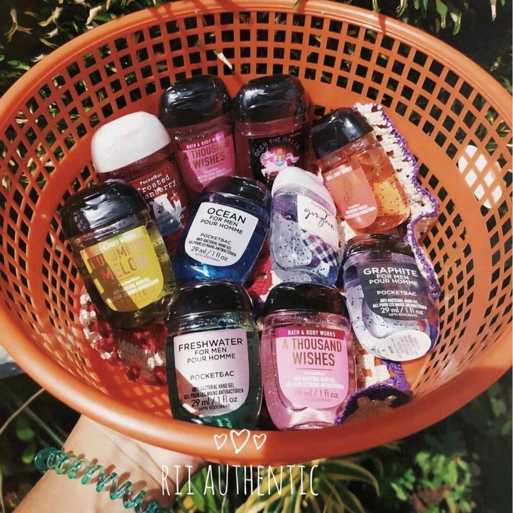 Nước rửa tay khô Bath and Body Works (Mini Hand Gel 29ml)