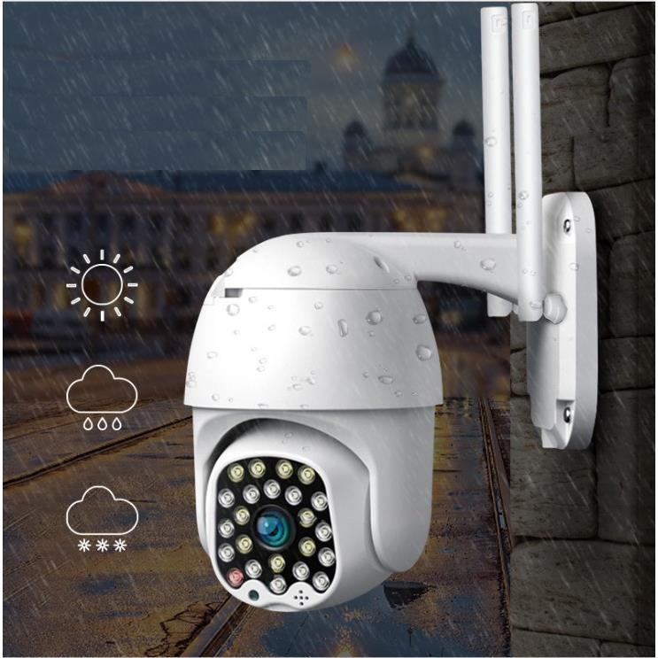 Camera Yoosee Ngoài trời 24 Led Xoay 360 độ 3.0Mpx chuẩn 1296Pixel