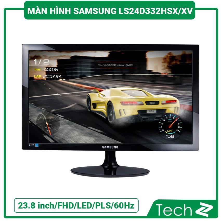 Màn Hình Samsung Ls24D332Hsx/Xv (23.8 Inch/Fhd/Led/Pls/250Cd/M²/Hdmi+Vga/60Hz/5Ms)