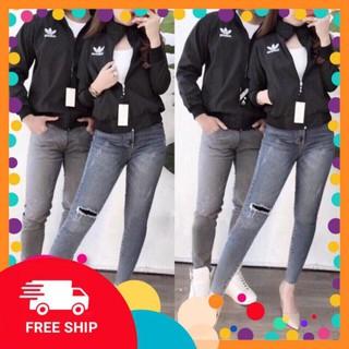 Free ship từ 50k – Combo áo khoác đôi nam nữ, vải dù cực chất giá siêu rẻ, Free ship [AKC013]