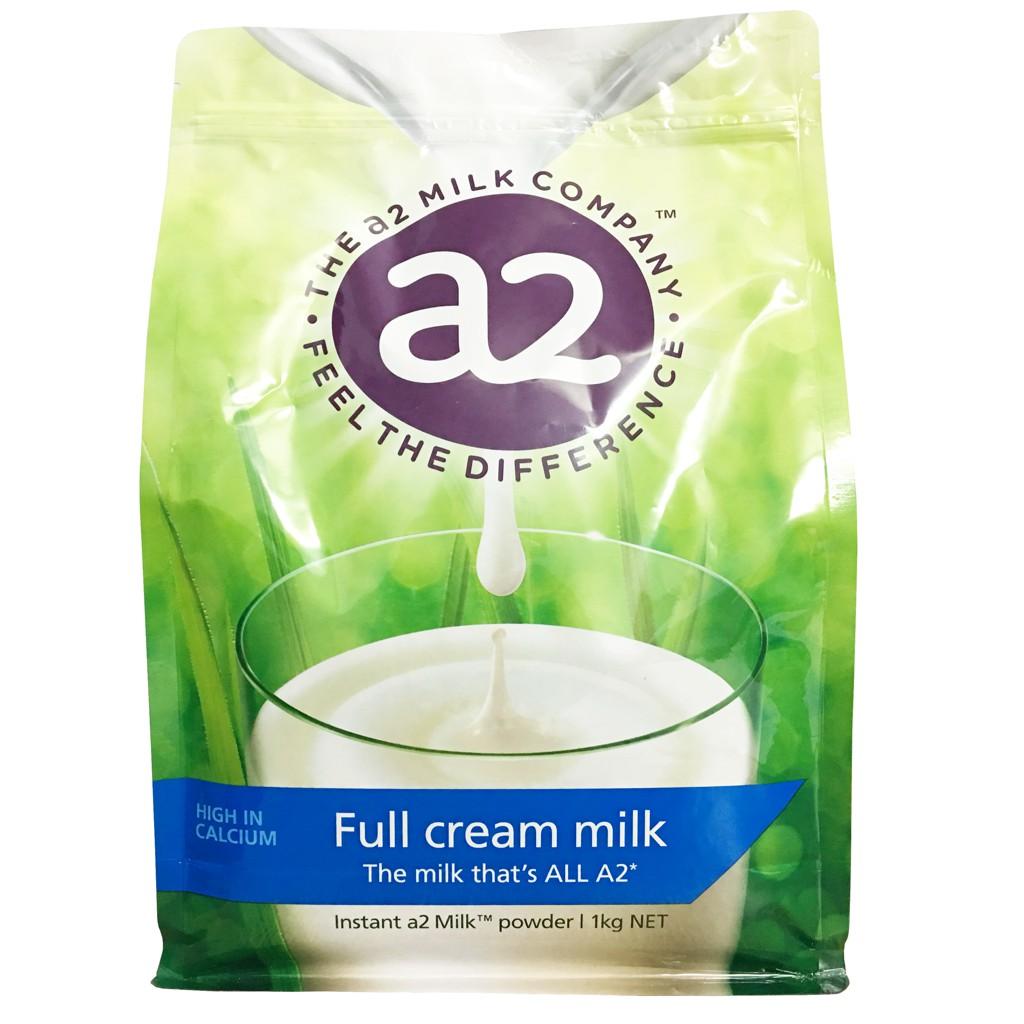 Sữa nguyên kem dạng bột A2 mẫu mới