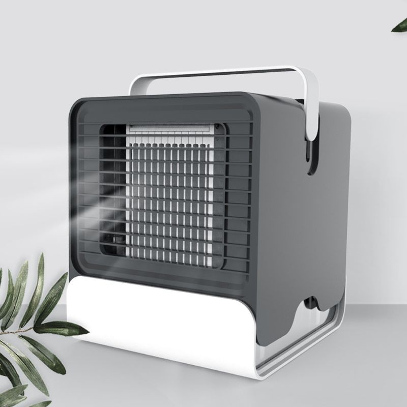 【ADD】Air Cooler USB Portable Air Conditioner Humidifier, Purifier with Night Light  Nightstand