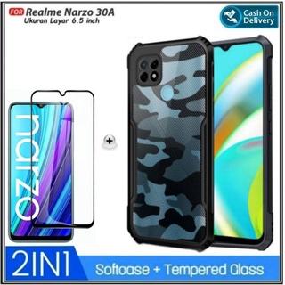 Ốp điện thoại cứng họa tiết quân đội cho Realme Narzo 30A thumbnail