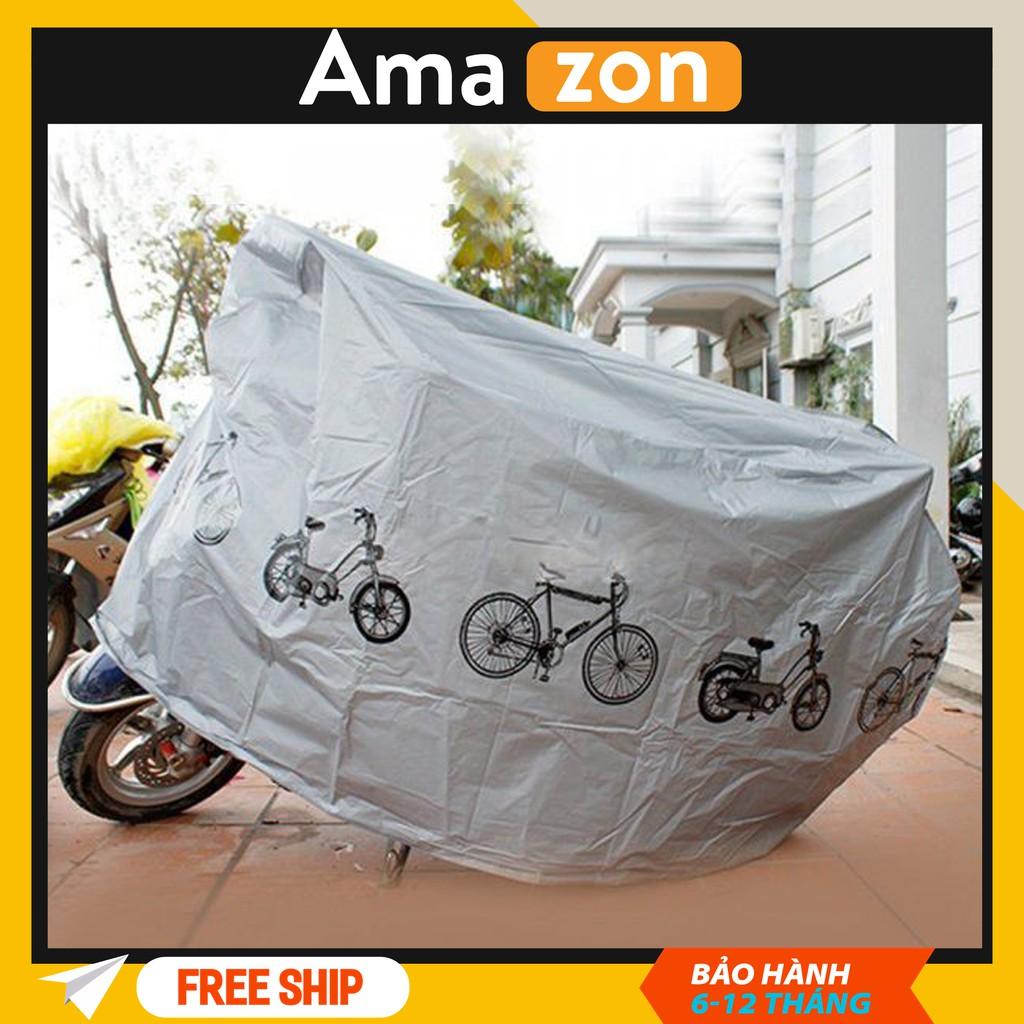 bạt phủ xe máy chống nắng mưa, bạt phủ xe máy cao cấp siêu bền hình ngộ nghĩnh