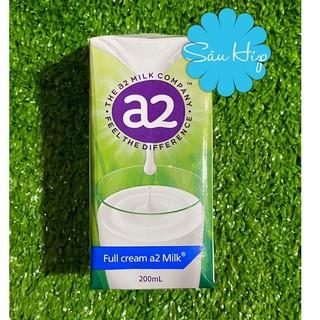 [Hộp 200ml] Sữa Tươi Nguyên Kem A2 dạng nước Hộp 200ml thumbnail