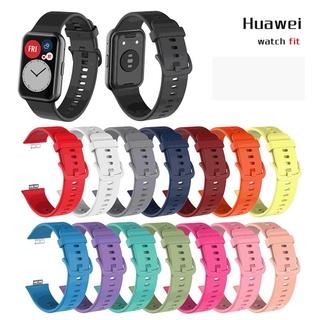 Dây Đeo Thay Thế Chất Liệu Silicon Chống Thấm Nước Cho Huawei Watch Fit
