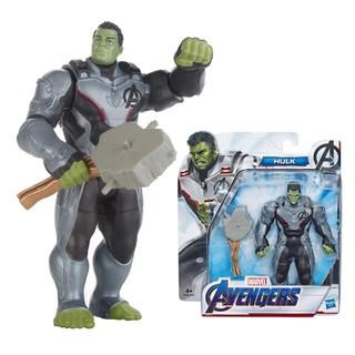 [Mã 1212TINI03 giảm 25% đơn 200k] Đồ chơi Hasbro nhân vật Hulk dòng Deluxe 6 inch Avengers E3938 thumbnail