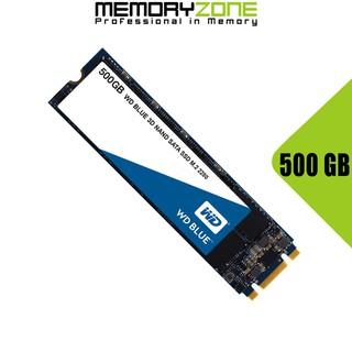Ổ cứng SSD Western Digital Blue 3D-NAND M.2 2280 SATA III 500GB WDS500G2B0B