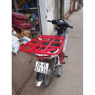 Giá chở hàng xe máy đa năng - Mituhome - Dùng cho các loại xe máy - Tặng kèm 2 dây chằng thumbnail