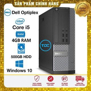 Máy tính để bàn Dell Optiplex SFF Core i5 4460, Ram 4GB, HDD 500GB. Quà Tặng, Bảo hành 2 năm